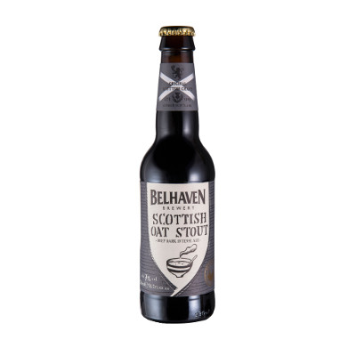 Belhaven Scottish Oat Stout 0,33l