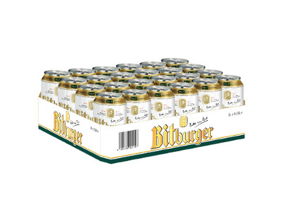 Bitburger pakiranje limenka 0,50l