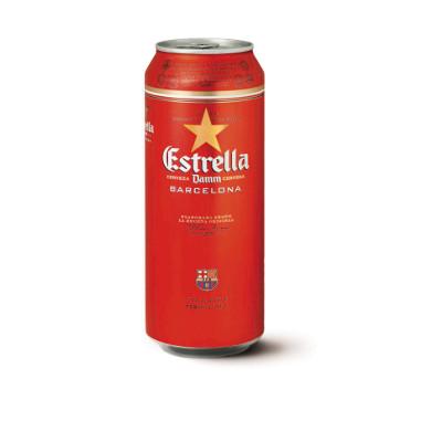 Estrella Damm limenka 0,50l
