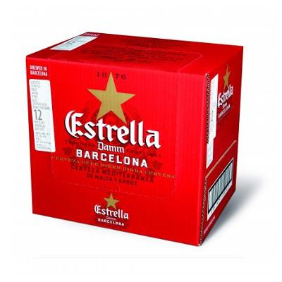 Estrella Damm pakiranje 0,66l