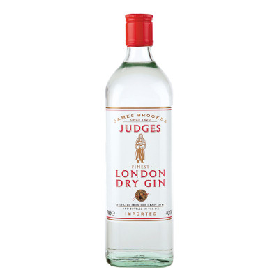 James Brookes Judges Gin